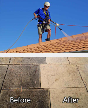 High Pressure Spraying Roof