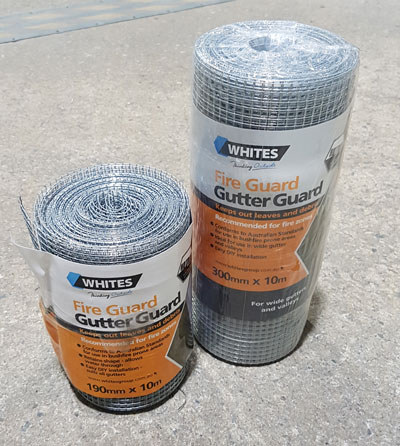 steel mesh gutter guard
